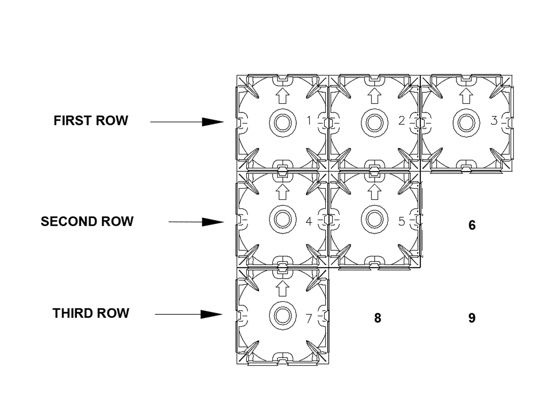 cupolex row plan